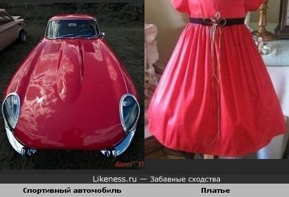 Платье для «Ягуара»