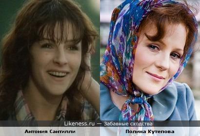 Антония Сантилли и Полина Кутепова
