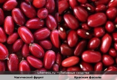 Магический фрукт и красная фасоль
