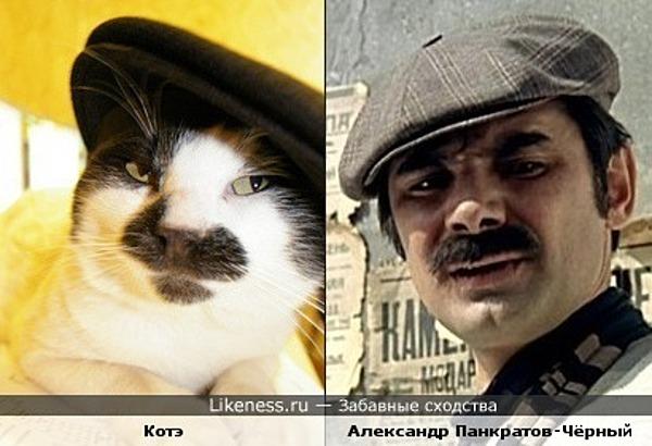 Котэ и Александр Панкратов-Чёрный