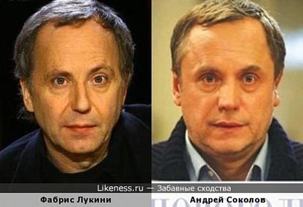 Фабрис Лукини и Андрей Соколов