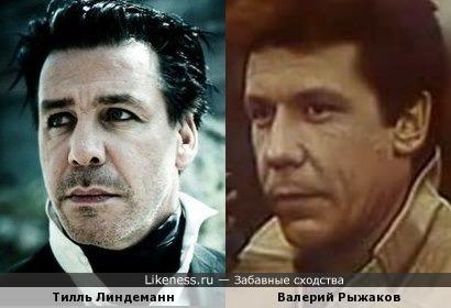 Тилль Линдеманн и Валерий Рыжаков
