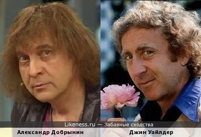 Александр Добрынин и Джин Уайлдер