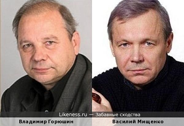 Владимир Горюшин и Василий Мищенко