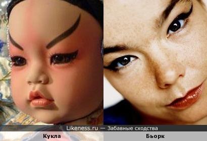 Эта кукла напомнила Бьорк