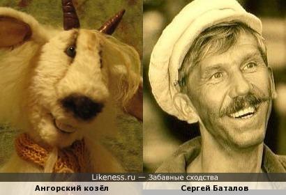 Козлик напомнил Сергея Баталова