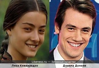Лика Кавжарадзе и Данила Дунаев