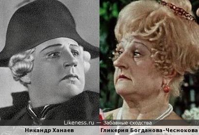 Никандр Ханаев и Гликерия Богданова-Чеснокова
