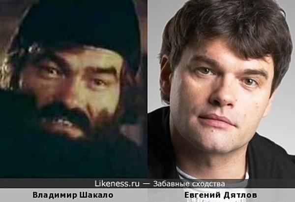 Владимир Шакало и Евгений Дятлов