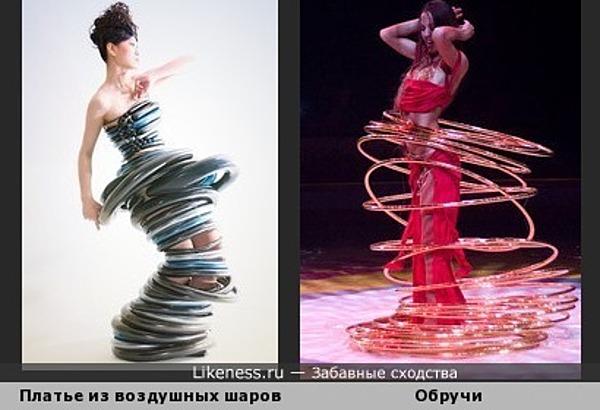 """Платье """"Хула-хуп"""""""