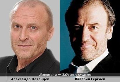 Александр Мезенцев и Валерий Гергиев