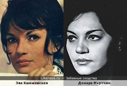 Эва Кшижевская и Донара Пилосян