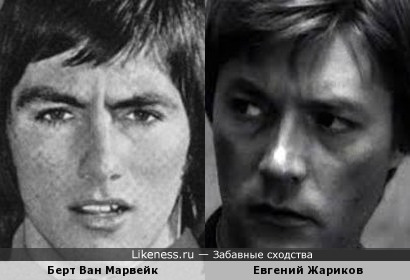 Берт Ван Марвейк и Евгений Жариков