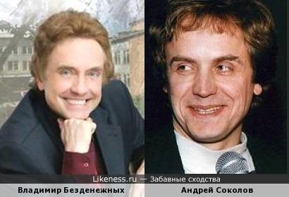 Владимир Безденежных и Андрей Соколов