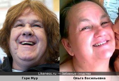 Гэри Мур и Ольга Васильевна Гобозова