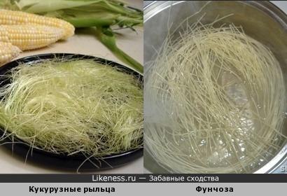 Кукурузные рыльца и фунчоза