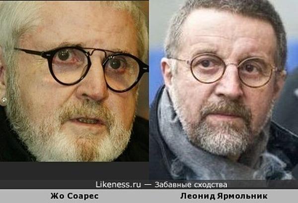 Жо Соарес и Леонид Ярмольник