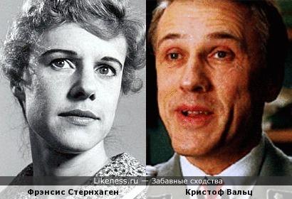 Фрэнсис Стернхаген и Кристоф Вальц