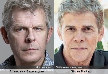 Алекс ван Вармердам и Жозе Майер