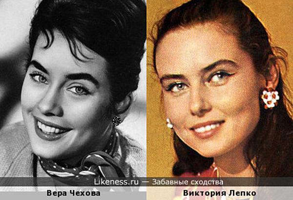 Вера Чехова и Виктория Лепко