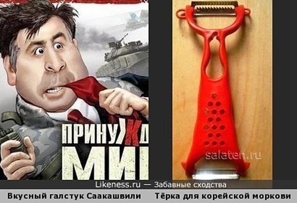 Новый галстук для Саакашвили