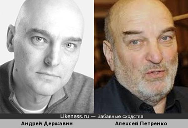Андрей Державин и Алексей Петренко
