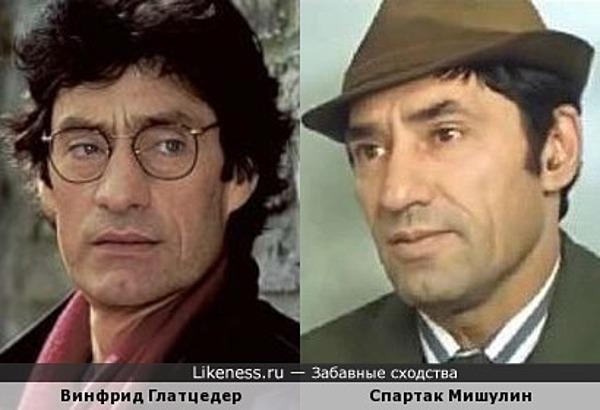 Винфрид Глатцедер и Спартак Мишулин