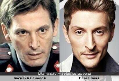Василий Лановой и Павел Воля