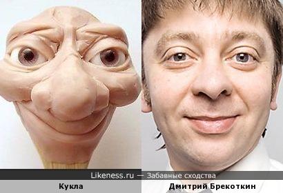 Дмитрий Брекоткин из полимерной глины