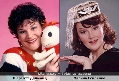 Шарлотт Даймонд и Марина Есипенко
