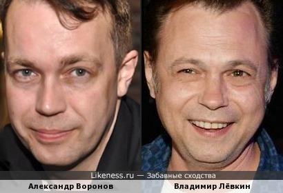 Александр Воронов и Владимир Лёвкин