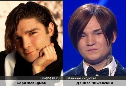 Кори Фельдман и Дэниел Чижевский