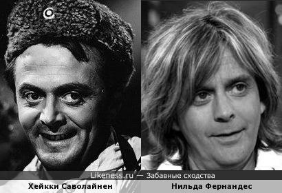 Хейкки Саволайнен и Нильда Фернандес