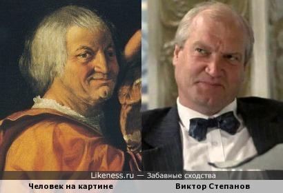 Человек на картине Доссо Досси и Виктор Степанов
