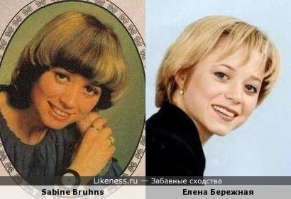 Немецкая певица Sabine Bruhns и Елена Бережная