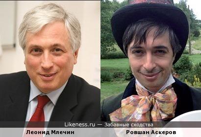 Леонид Млечин и Ровшан Аскеров