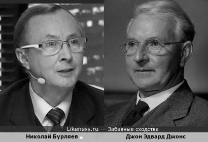 Николай Бурляев и Джон Эдвард Джонс