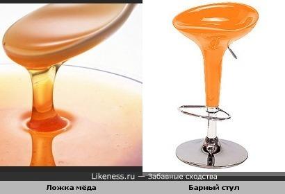 Ложка мёда и барный стул...