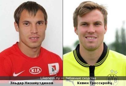 Эльдар Низамутдинов и Кевин Гросскройц