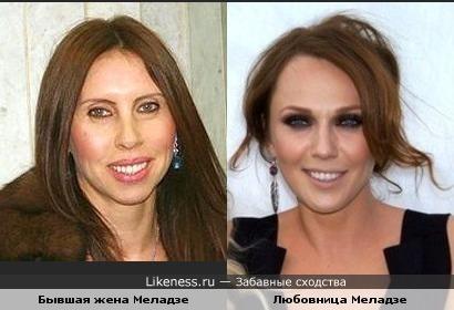 Любовница Валерия Меладзе похожа на его экс-жену
