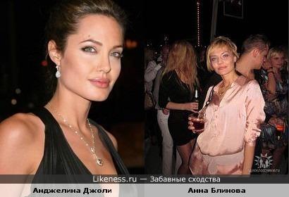 Оперная певица Анна Блинова похожа на Анджелину Джоли