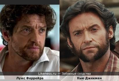 Хью Джекман и Луис Феррейра