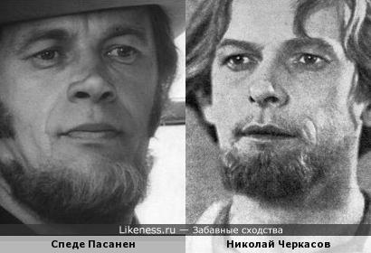 Финский комик Спеде Пасанен похож на Николая Черкасова