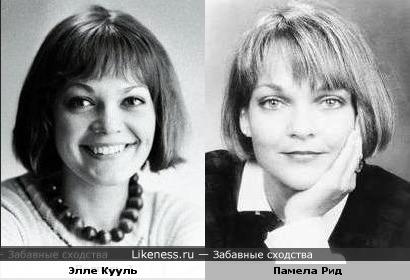 Советская и американская актриса похожи
