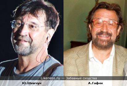 Александр Гафин похож с Юрием Шевчуком