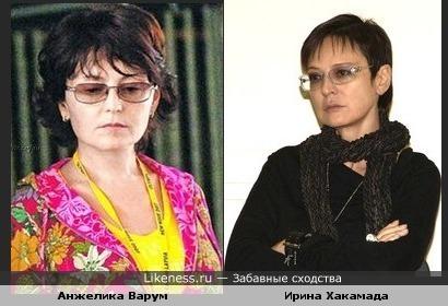 Анжелика стала похожа на Ирину Хакамаду