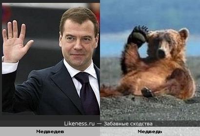 Превед,медвед!