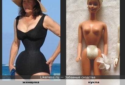 Фигура как у Барби