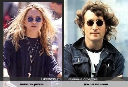 Николь Риччи тут на Джона Леннона похожа