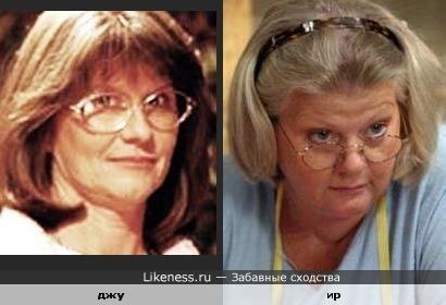Джудит Айви и ирина Муравьева похожи.